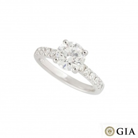 Diamond Ring 1.70ct H/VS1 XXX